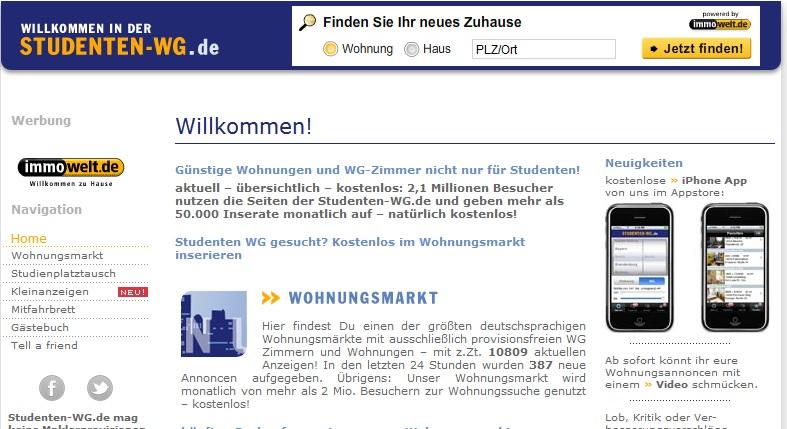 studenten-wg.de