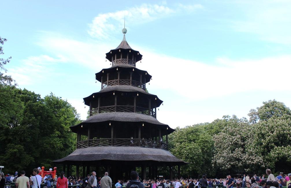 Biergarten Chinesischer Turm
