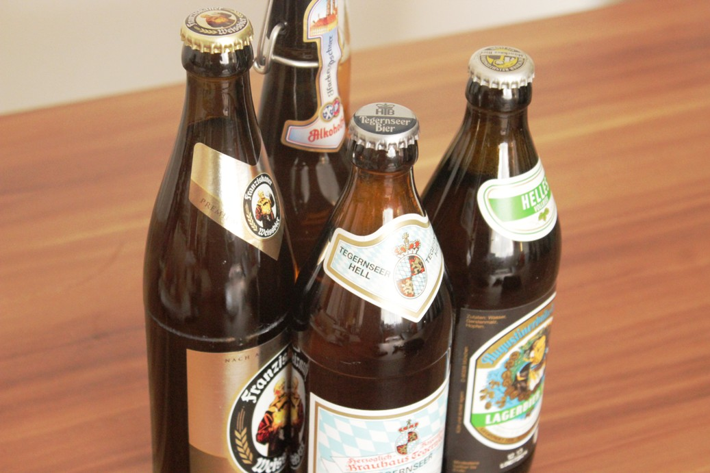 Diverse Biersorten