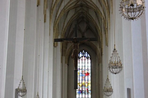 Jesuskreuz in der Frauenkirche