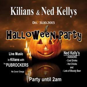 Halloweenparty im Kilian Irish Pub