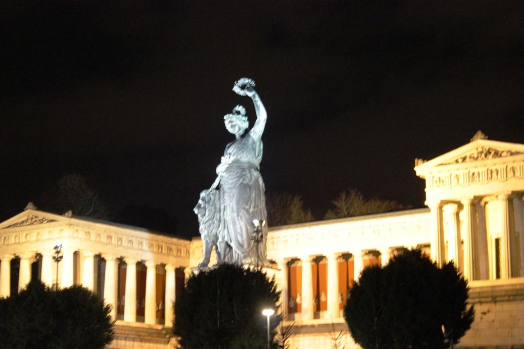 Statue Bavarie