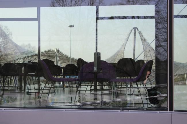 Cafe im Olympiapark
