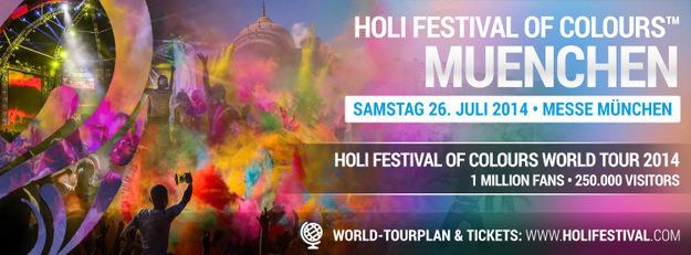 Holi Festival in München