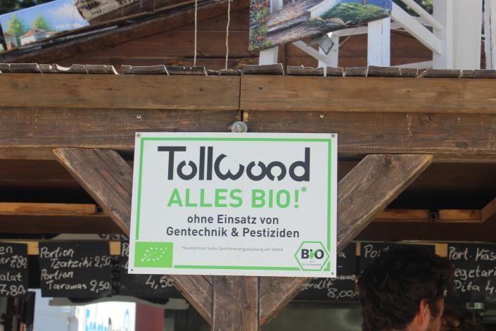 Bio Essen auf dem Tollwood